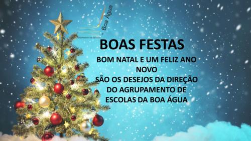 Cartão de Natal Agrupamento