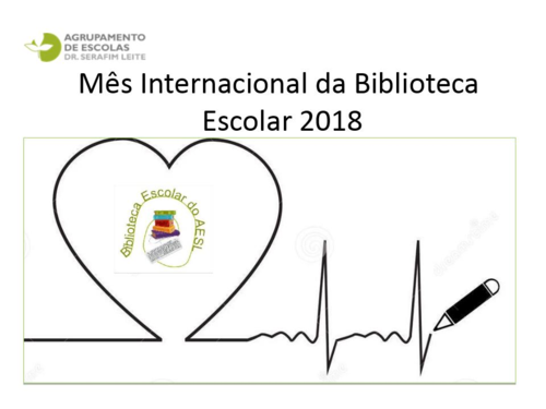 Outubro - Mês Internacional da Biblioteca Escolar