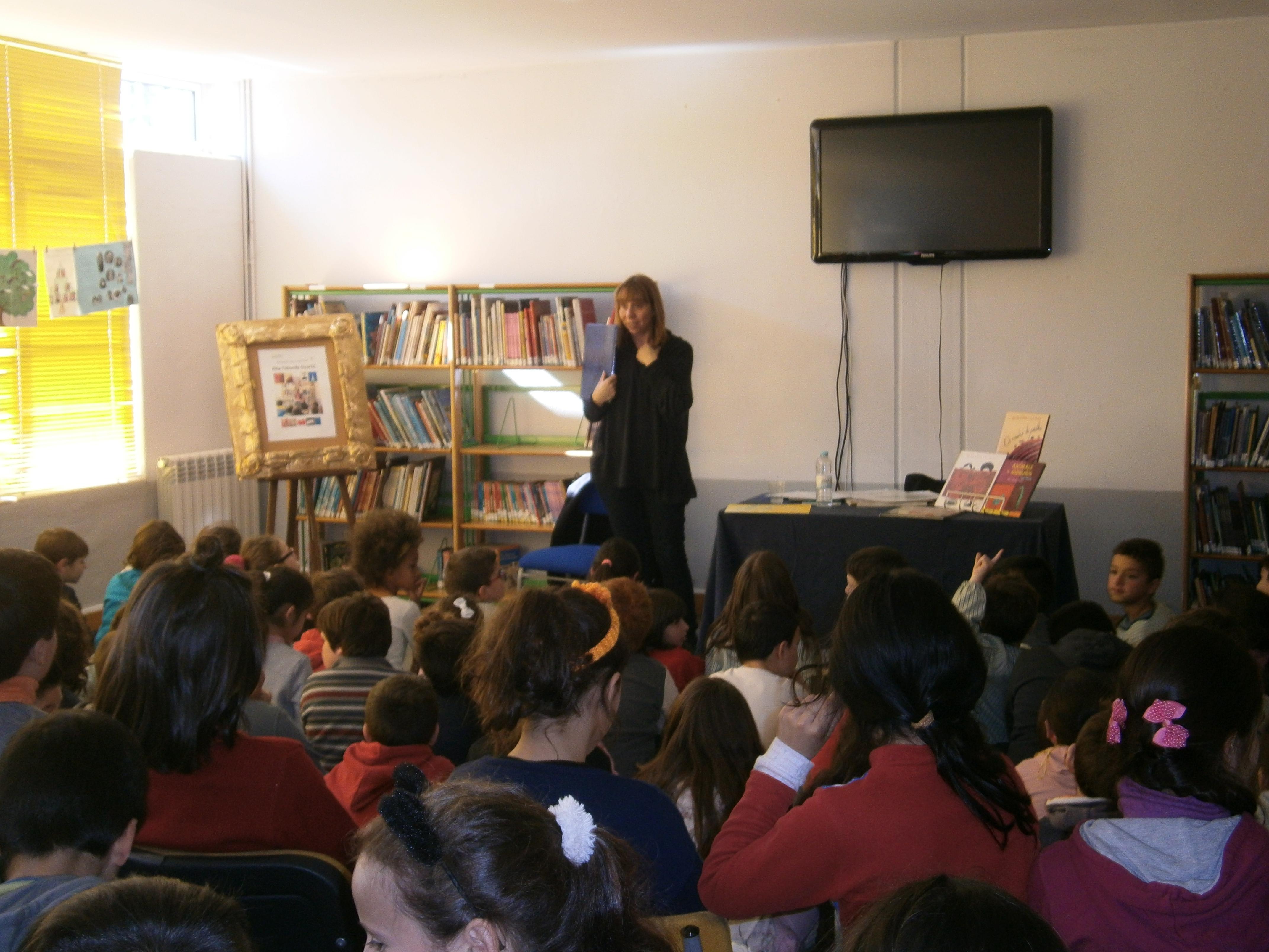 Rita Taborda Duarte no nosso Agrupamento